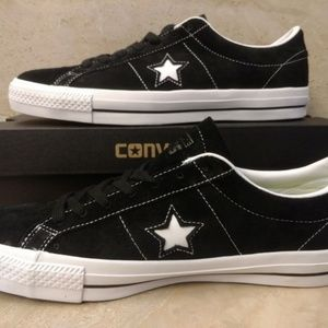 2ac8510aef09bd Converse Shoes - Size 12 Converse One Star OX Suede Leather Shoes